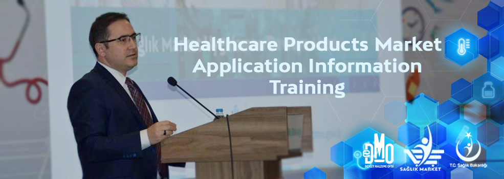 Healthcare Products Market Application Information Training