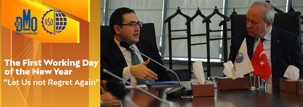 General Director Mücahit CİVRİZ Paid a Visit to Ankara Chamber of Industry (ASO)