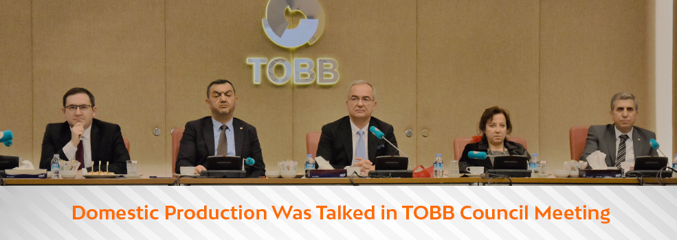 Attendance by DMO General Directorate at the Assembly Meeting Held in TOBB