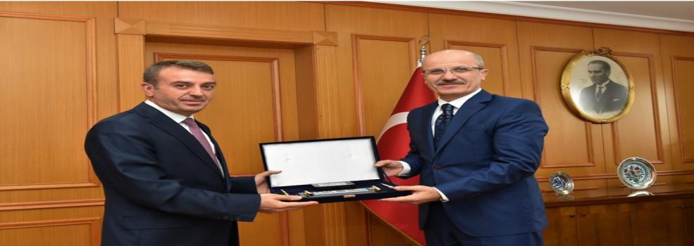 Bölge Müdürümüz Sn. Aydın AKYÜREK'in Marmara Üniversitesi Rektörü Prof. Dr. Sn. Erol ÖZVAR'ı Ziyareti