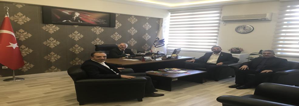 Bursa Memur-Sen Tarafından Müdürlüğümüze Gerçekleştirilen Ziyaret