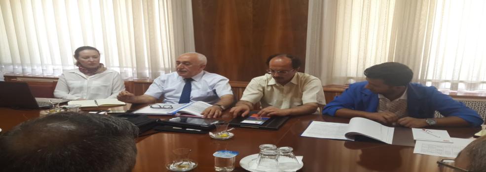 TÜLOMSAŞ Genel Müdürlüğünde Ofisimiz Faaliyetleri Hakkında Yapılan Sunum