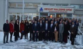 Genel Müdürümüz Mücahit CİVRİZ' in Eskişehir Bölge Müdürlüğünü Ziyareti