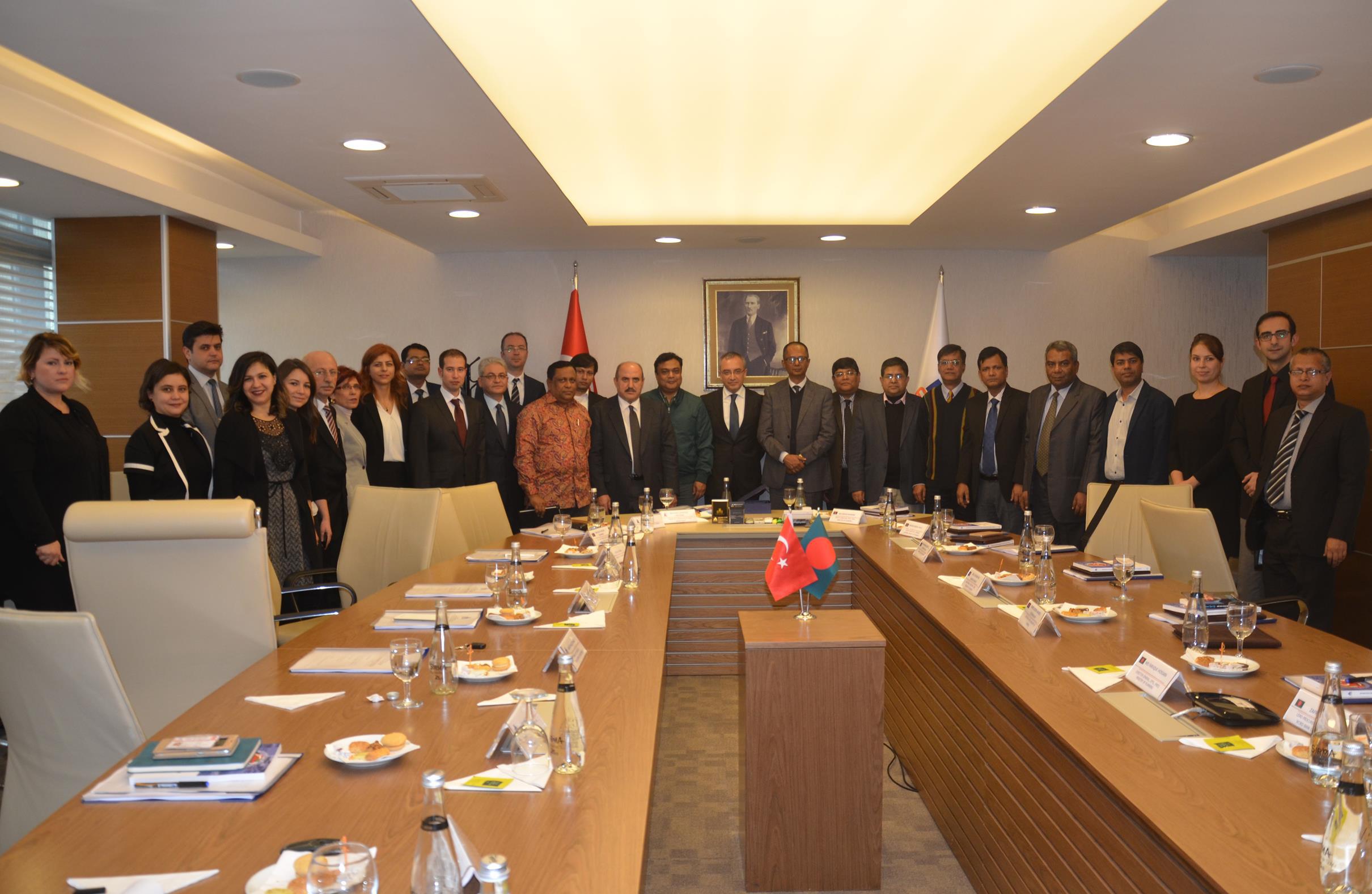 Bangladeş Hükümeti ve Kamu İhale Kurumu Yetkililerinden Oluşan Heyetin Genel Müdürlüğümüzü Ziyareti