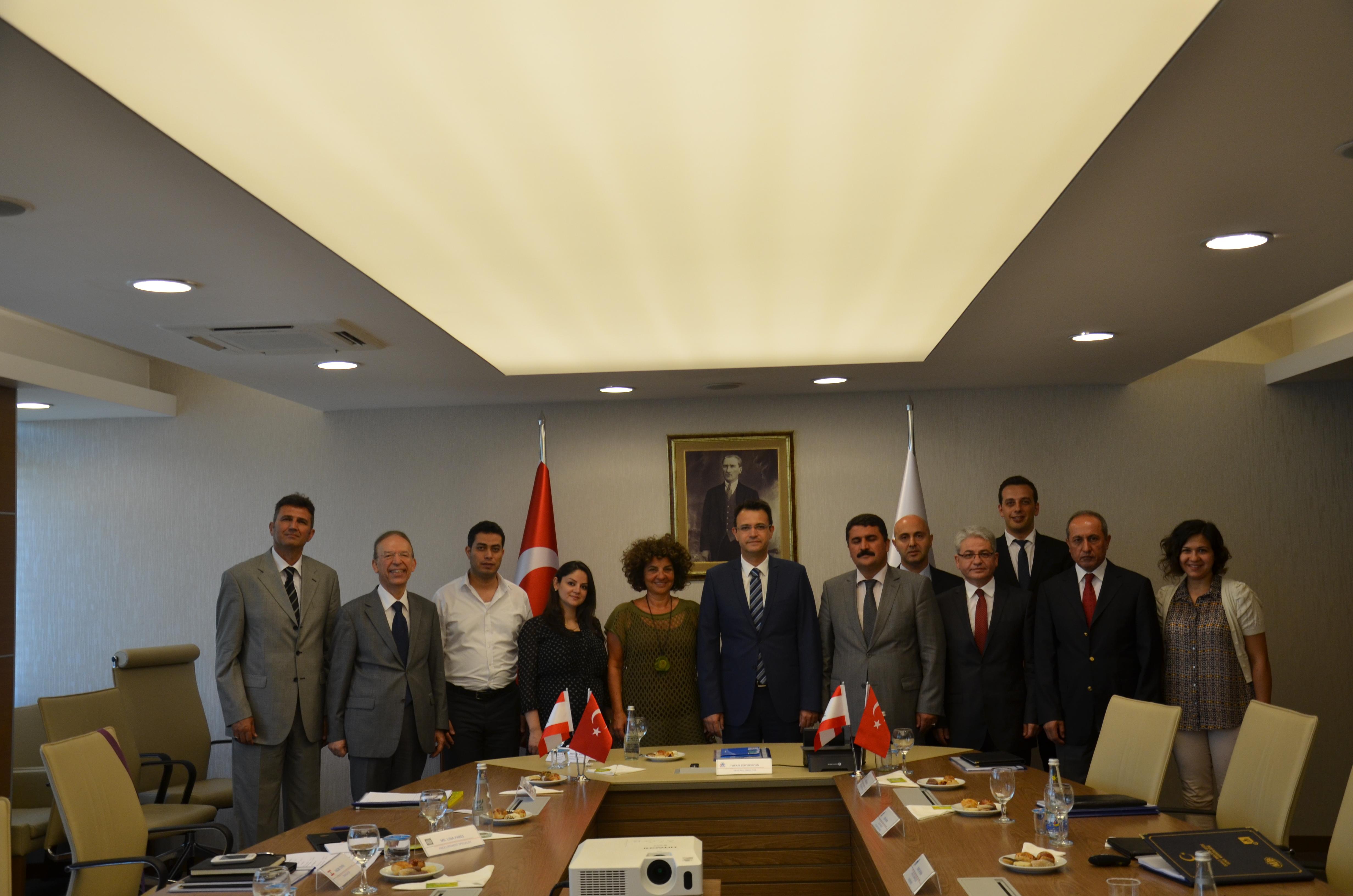 Dünya Bankası ve Lübnan Heyetinin Genel Müdürlüğümüzü Ziyareti