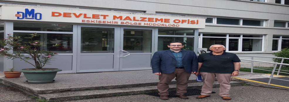 Genel Müdür Vekilimiz Sn. Mücahit CİVRİZ'in Eskişehir Bölge Müdürlüğümüzü Ziyareti