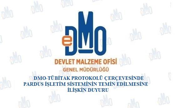 DMO-TÜBİTAK Protokolü Çerçevesinde Pardus İşletim Sisteminin Temin Edilmesine İlişkin Duyuru