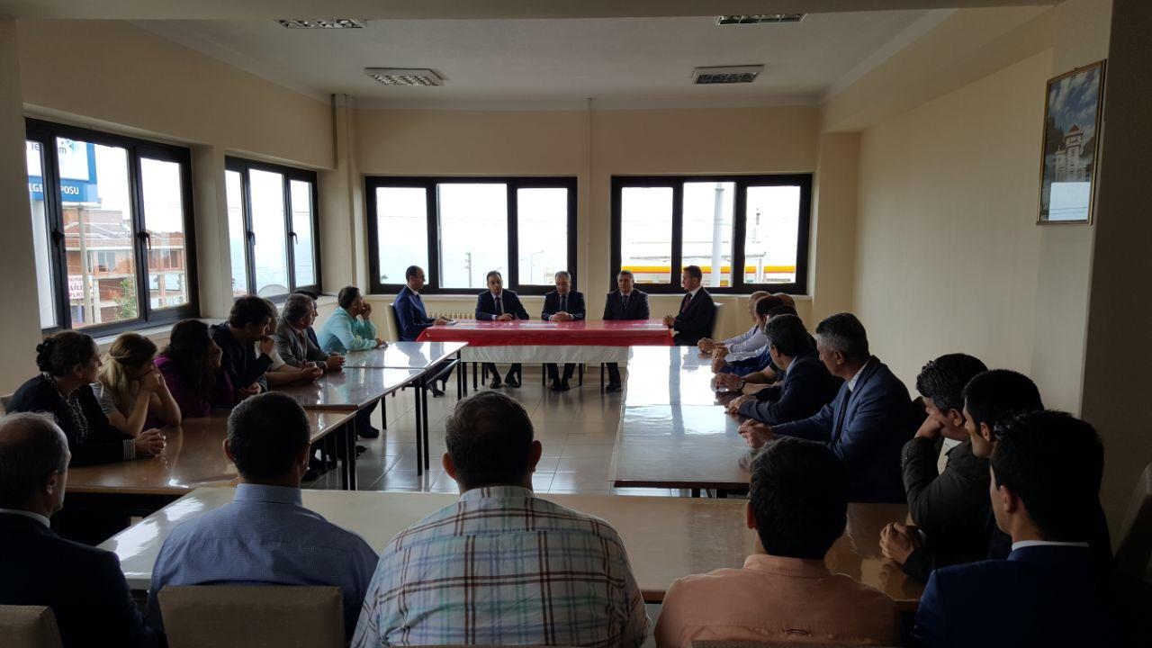Genel Müdürümüz Sn. E. Levent ŞAHİN'in Trabzon Bölge Müdürlüğümüzü Ziyareti
